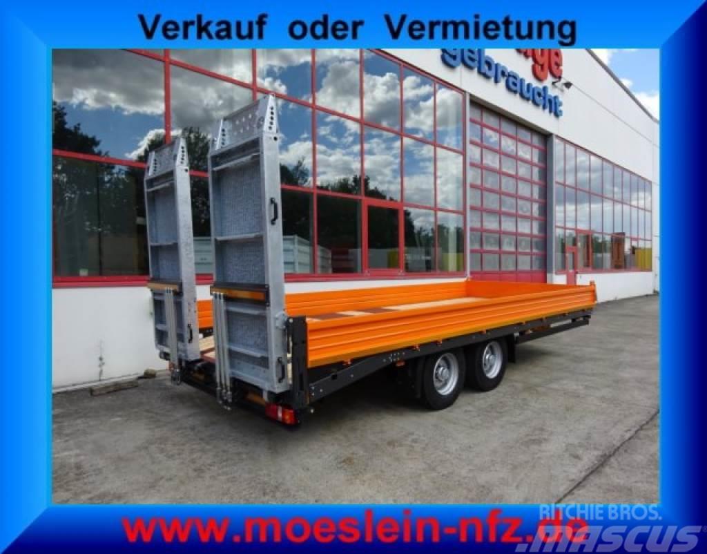 Möslein TTT 11-6,2 BR Orange Tandemtieflader mit breiten
