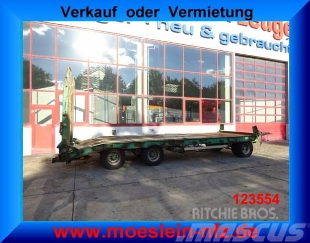 Müller-Mitteltal 3 Achs Tieflader Anhänger