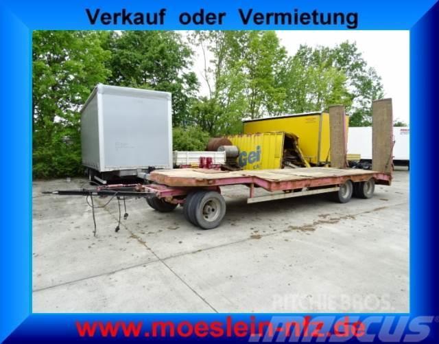 Müller-Mitteltal 3 Achs Tieflader Anhänger mit ABS