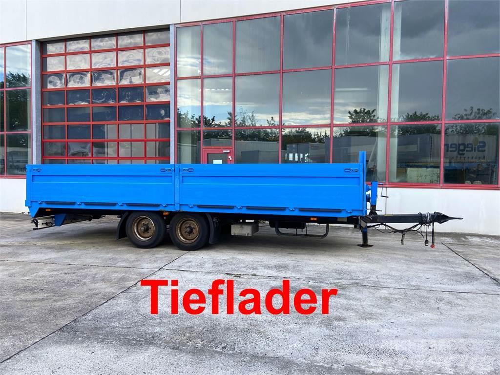 Müller Mitteltal EAL-TA Tandem- Pritschenanhänger- Tiefl