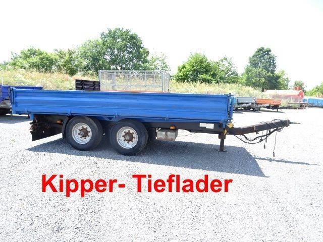 Müller Mitteltal KA-TA-T 13,5 t Tandemkipper- Tieflader