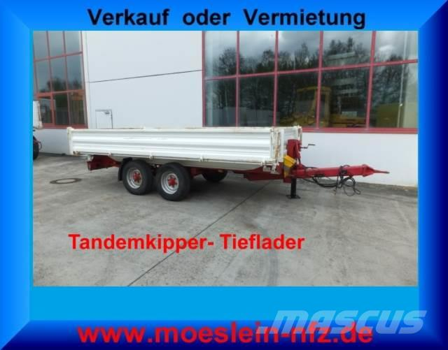 Müller Mitteltal Tandemkipper Tieflader