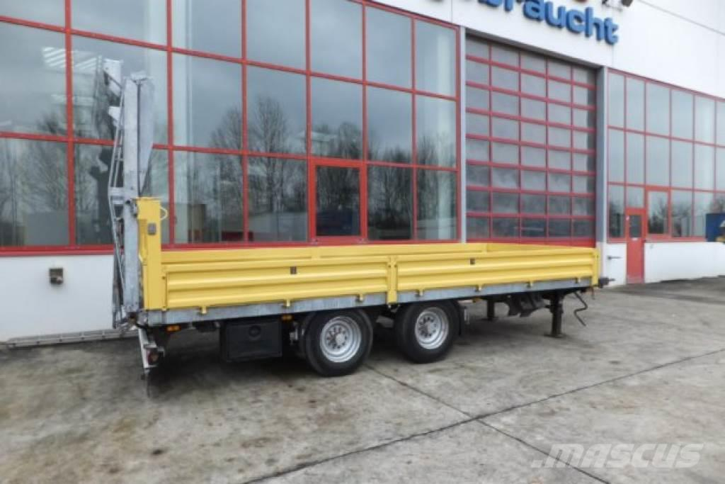 Obermaier OS2-TUE135S 13,5 t Tandemtieflader