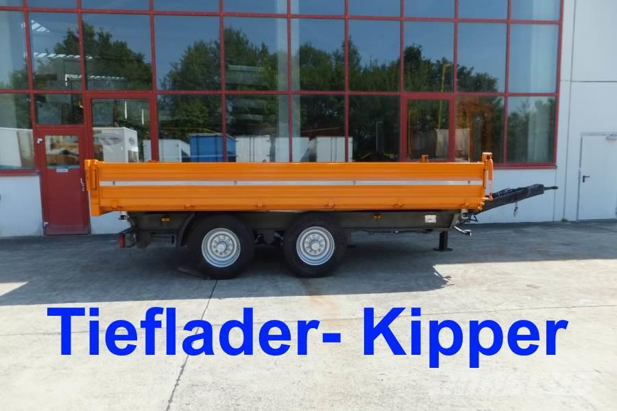 [Other] 14 t Tandemkipper-Tieflader