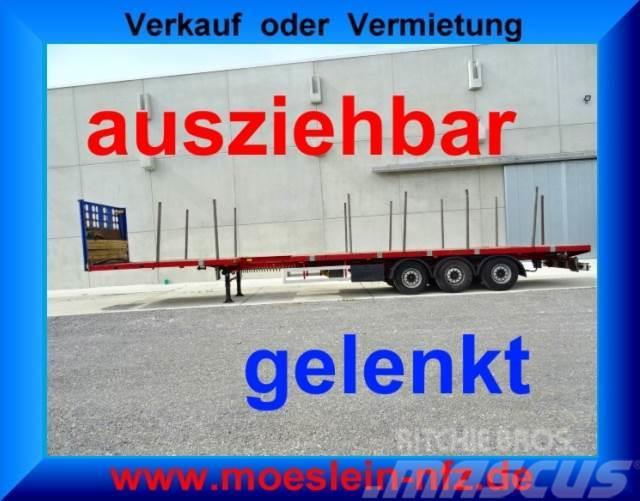 [Other] FELLECHNER 3 Achs Tele Sattelauflieger, 4,20 m au