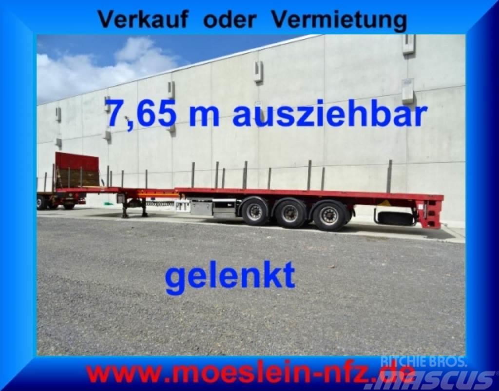 [Other] FLOOR'S FLUO-18-27F1 3 Achs Auflieger, 7,65 m aus