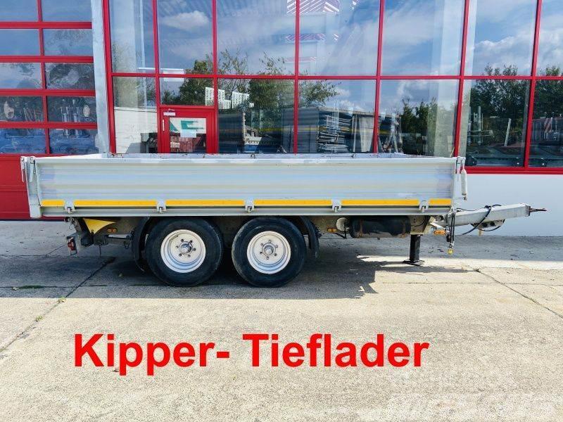 [Other] TK Tandemkipper- Tieflader mit Breitbereifung