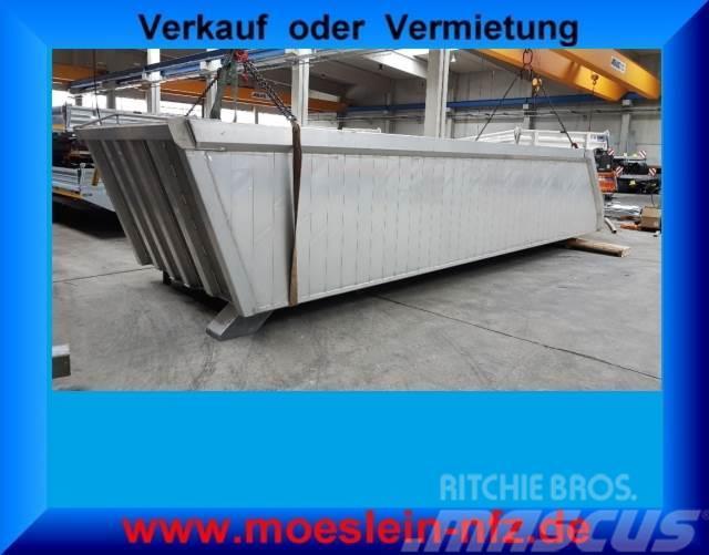 Renders neue Alu Muldenaufbau ca. 26 m³