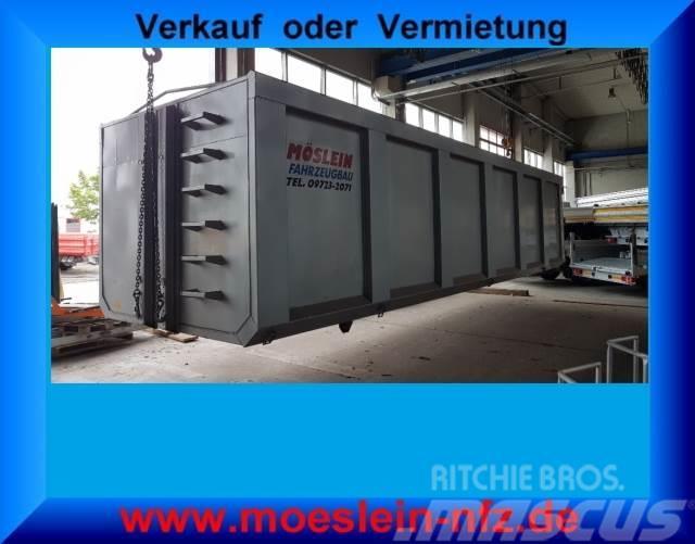 Schmitz Gotha Stahl Muldenaufbau ca. 44 cbm, Schrottmulde