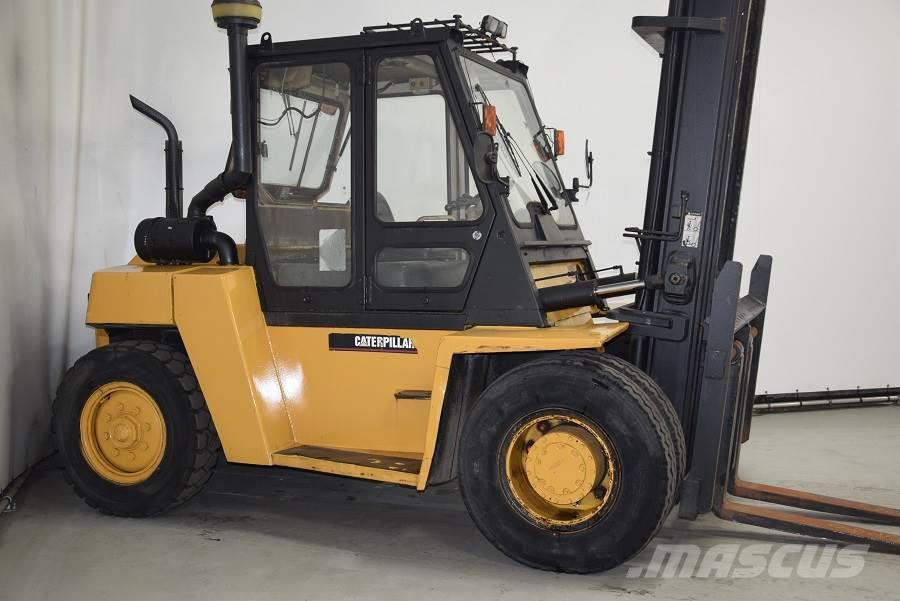 Used Caterpillar DP80 diesel Forklifts Year: 1999 for sale