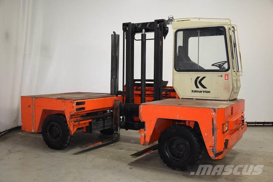 Used Kalmar DFQ40/14/40D diesel Forklifts Year: 1987 for