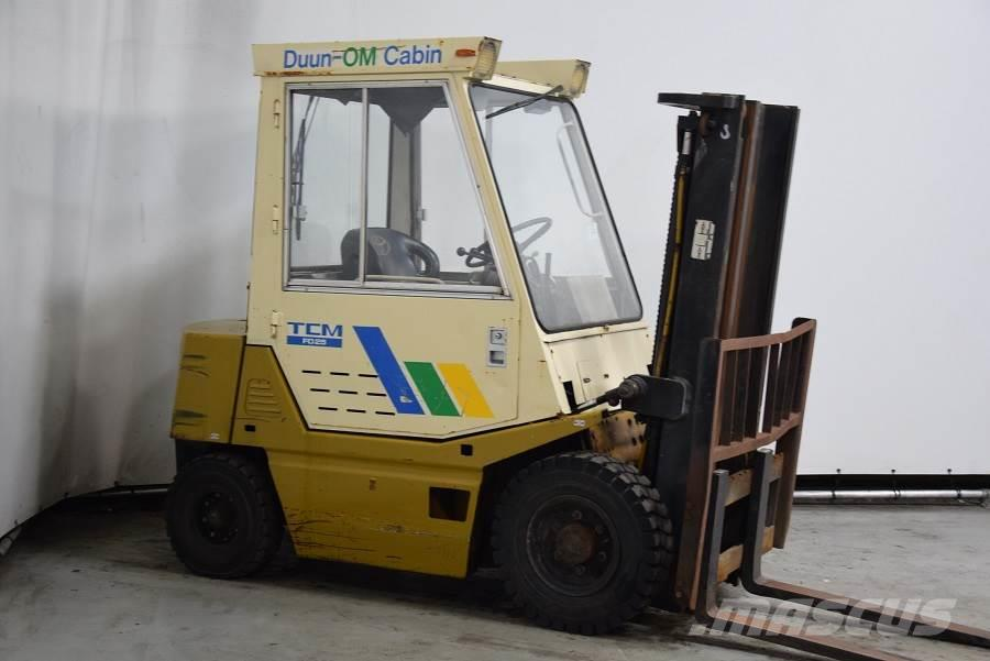 tcm forklift year by serial number