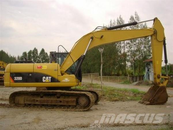 Caterpillar 320D , 2007 - Crawler excavators - Mascus Ireland