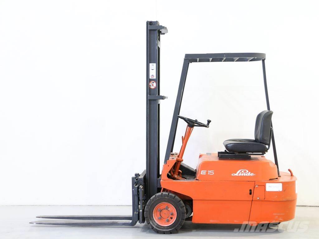 Lieblings Linde E15/323 - Electric forklift trucks, Year of manufacture &KW_66