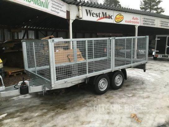 Boro ATLAS 4x2 3500kg verkkolaidat, 2017, Övriga släp