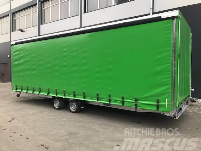 Boro BOSS 6x2 2700 kg, 2017, Kapellsläp
