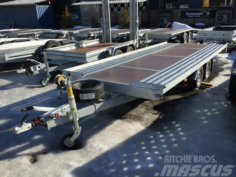 Boro MARS 5x2 3000kg LowLiner 60cm, 2017, Biltransportsläp