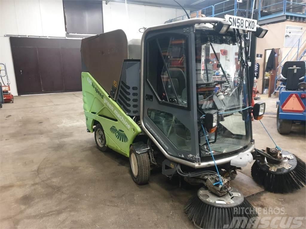 Green Machines 636 Harjalakaisukone