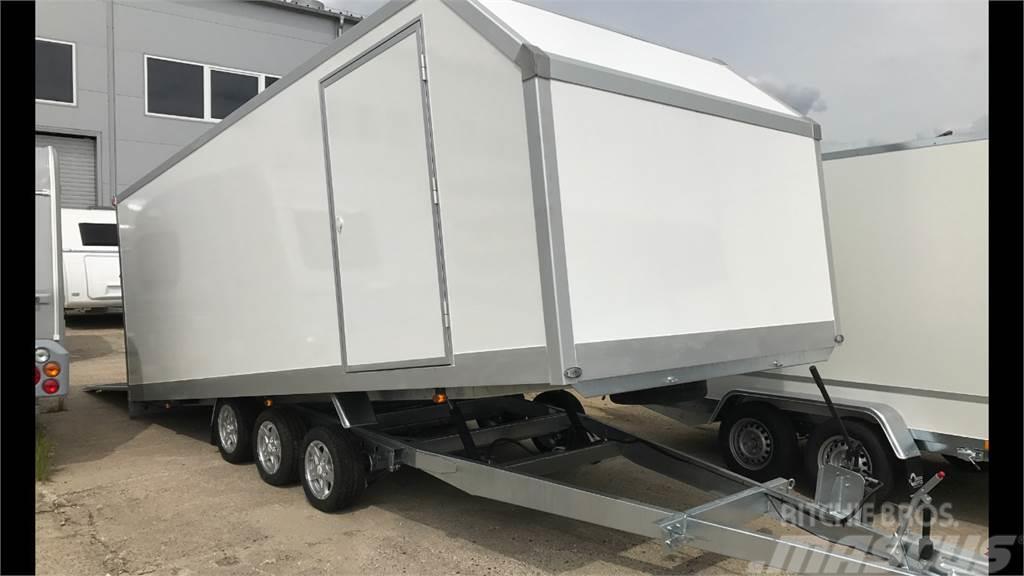 NIEWIADOW Iso kipillinen autokuljetus traileri myös mittojen