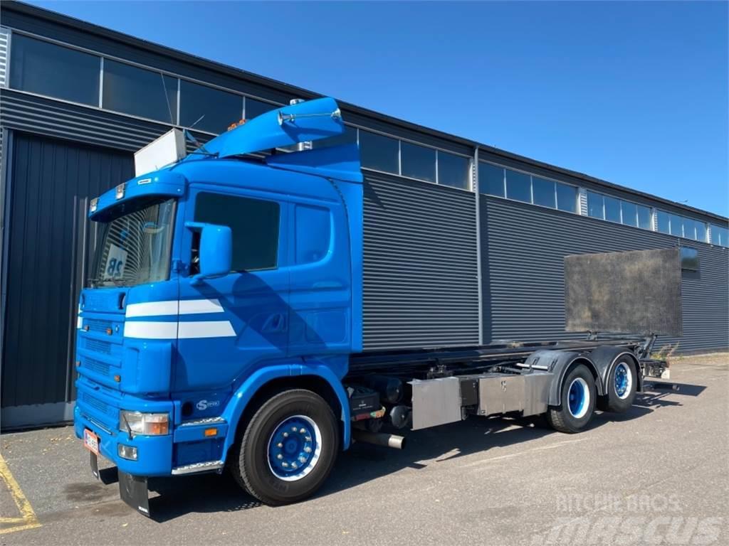 Scania R144 6X2 Tasonosto