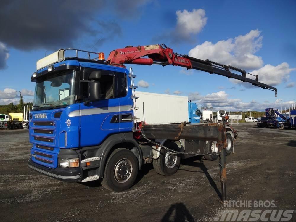 Scania R420 8x4 euro4