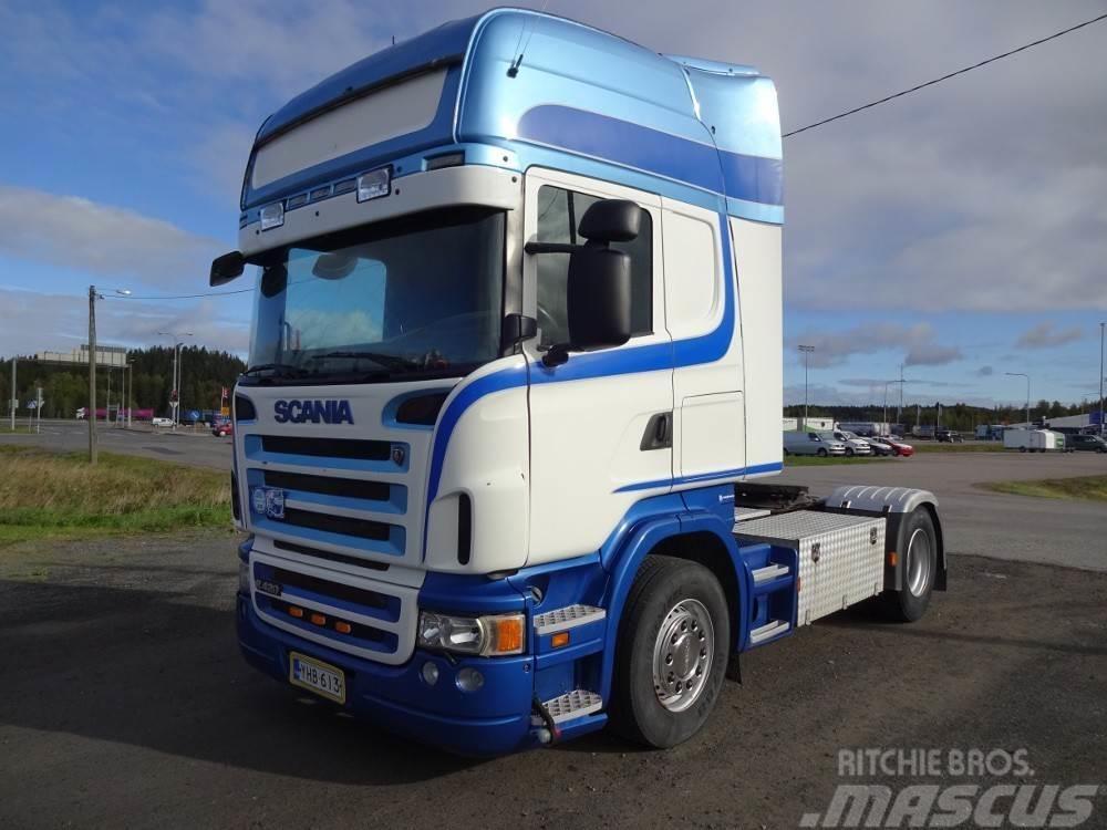 Scania R420 manuaalivaihde