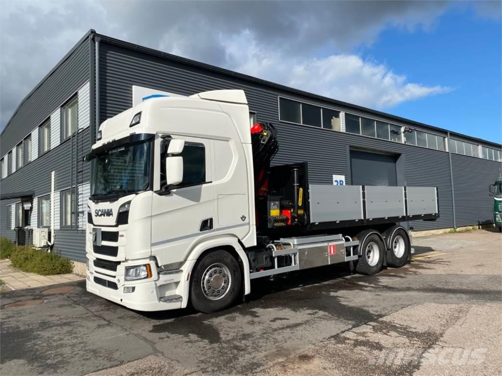 Scania R520 Multilift vaijerilaite