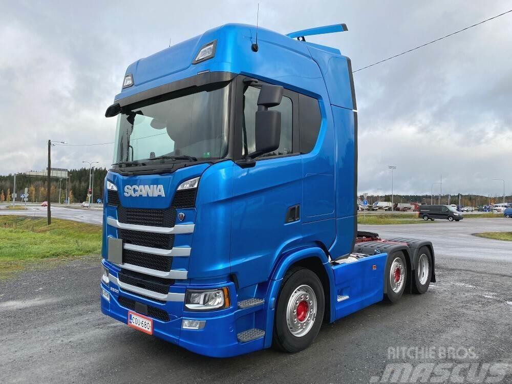 Scania S500 väliteli euro6