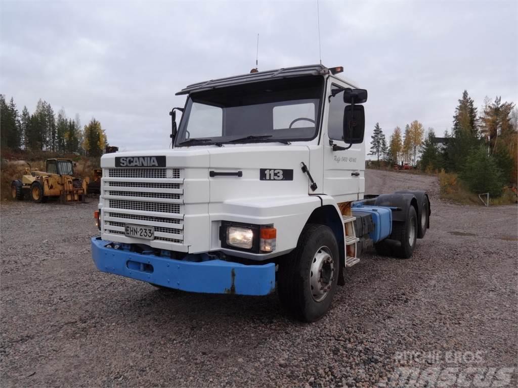 Scania T113HL-6X2, 11 l, Diesel, JUURI ISOSTI HUOLLE