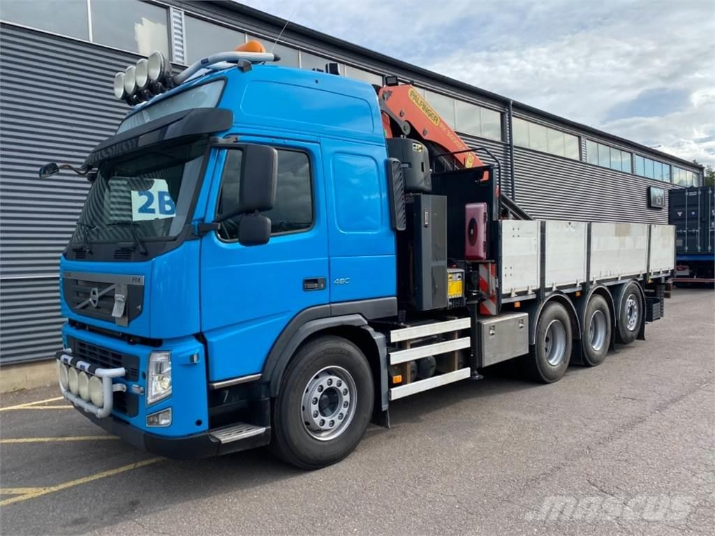 Volvo FM460 8X4*4 Tridem Palfinger PK34002-SH nosturi