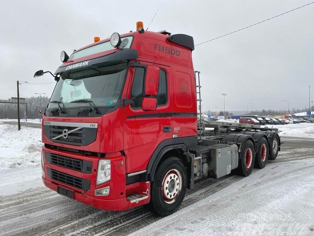 Volvo FM500 Tridem vaijeriauto