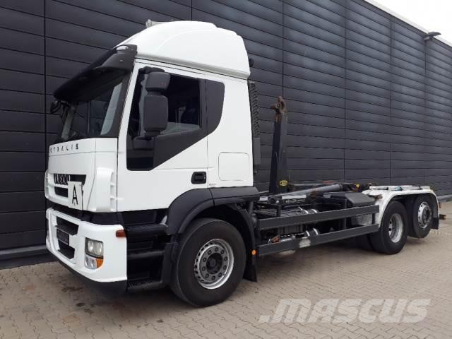 Iveco AT260S42Y/PS Abrollkipper / Meiller / Retarder