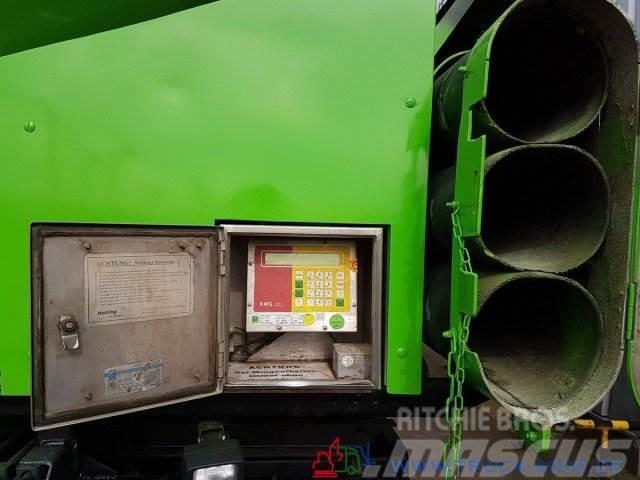 DAF CF85.510 31m³ Silo Pellets Staub Riesel Waage