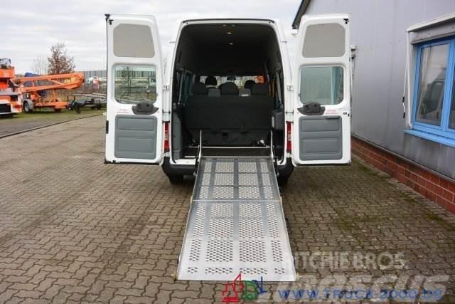 Ford Transit 125T300 8 Sitze Rollstuhrampe Scheckheft