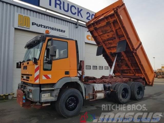 Iveco 260E42 6x4 Kipper Arbeitsplatte AHK DeutscherLKW