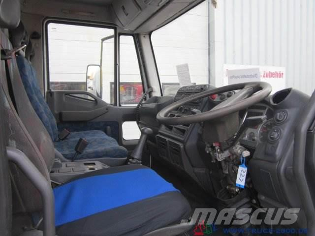 Iveco Eurocargo Johnston VT650 Aufbau ohne Anbauteile