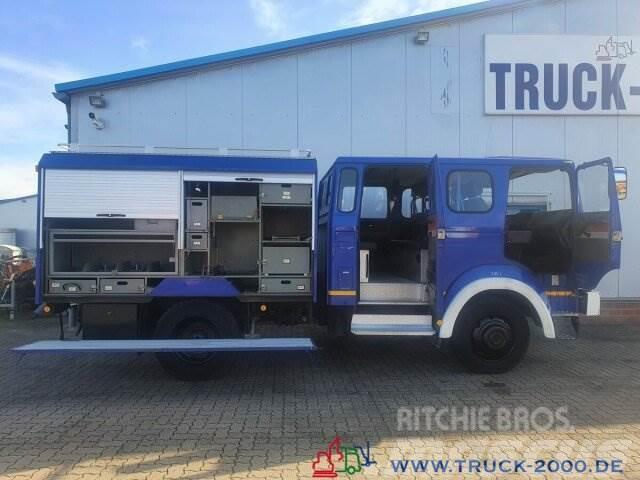 Magirus Deutz 90-16 Turbo 4x4 Ideal Expedition-Wohnmobil 1.Hd.