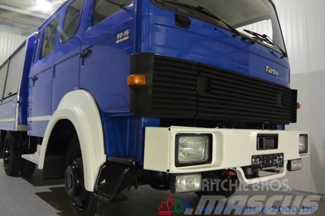 Magirus Deutz 90-16 Turbo 4x4 Mannschaft-Gerätewagen Neuwertig