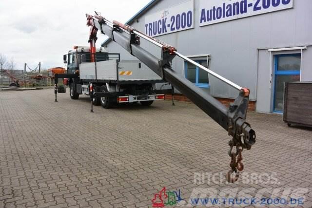 MAN 28.464 6x4 Fassi F300 - 25 m Hakenhöhe Intarder