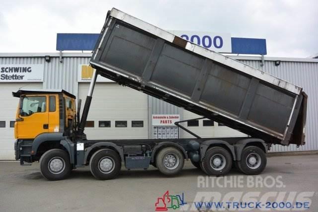 MAN TGA 41.440 10x8 35m³ hydr. Muldendeckel NL 26t.