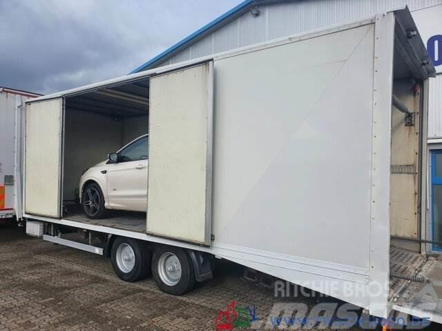 MAN TGM 15.290 Doppelstock Geschlossen 3 Fahrzeuge