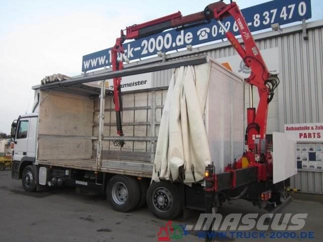 Mercedes-Benz 2536 Actros Atlas 171.4 +JIB 18,2m - 300kg 1.Hand