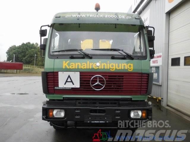 Mercedes-Benz 2538 SK Kaiser Wasseraufbereiter HD Saug Spüler