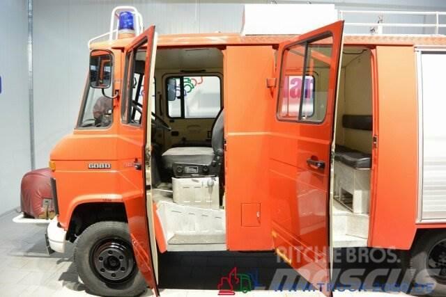 Mercedes-Benz 608 D LF8 Feuerwehr Bachert 9-Sitzer Löschpumpe