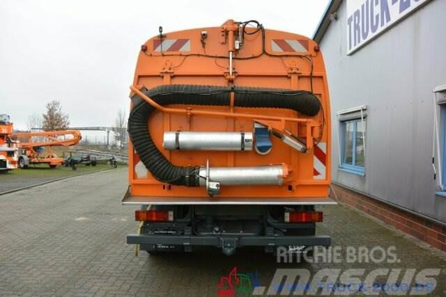 Mercedes-Benz Atego 1324 HSW Explorer 6 Hecksauger Vorsprühen