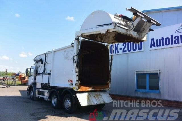 Mercedes-Benz Axor 2529 Faun Easypress Frontlader 25 m³ 1.Hd