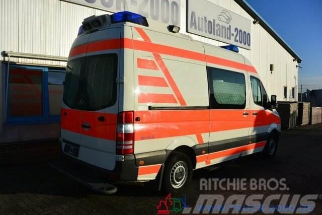 Mercedes-Benz Sprinter 315 CDI Binz Ambulance RTW Trage 1.Hand