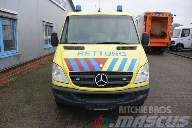 Mercedes-Benz Sprinter 315 CDI RTW Trage Rollstuhl Rampe AHK