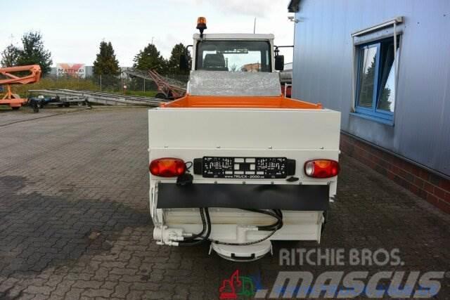 Multicar Kiefer Boki Winterdienst +Schild +Streuer +Besen