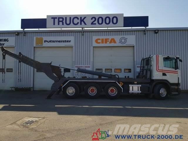 Scania G 480 8x4 Tele Gerken Adonis 24.5t. NL Lenk Lift